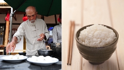 每天凌晨4點起床、工作15小時...86歲「煮飯仙人」,靠一碗白飯成為日本傳奇