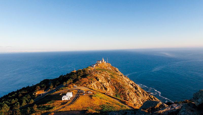 西班牙菲尼斯特雷(Fisterra)在羅馬時代被冒險家認為是地之盡頭,海之開端。
