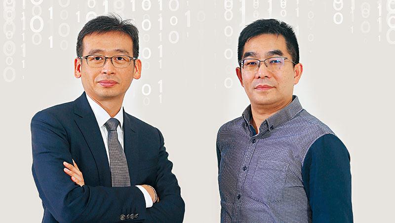 良興電子總經理-賴志達(右)、政大EMBA執行長-邱奕嘉
