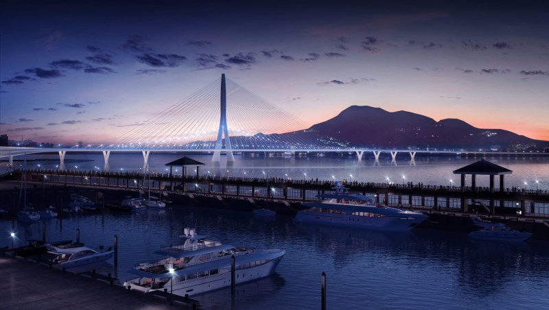 畫得出來、蓋不出來!專家曝「淡江大橋」流標7次內幕