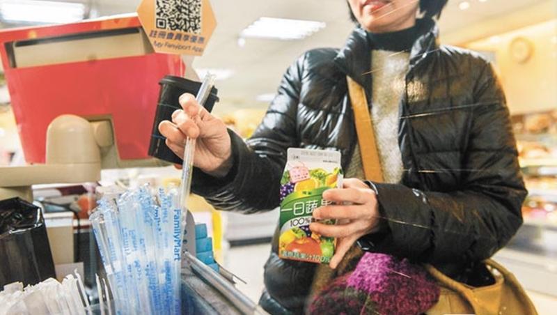 明年起連鎖速食 內用禁塑膠吸管