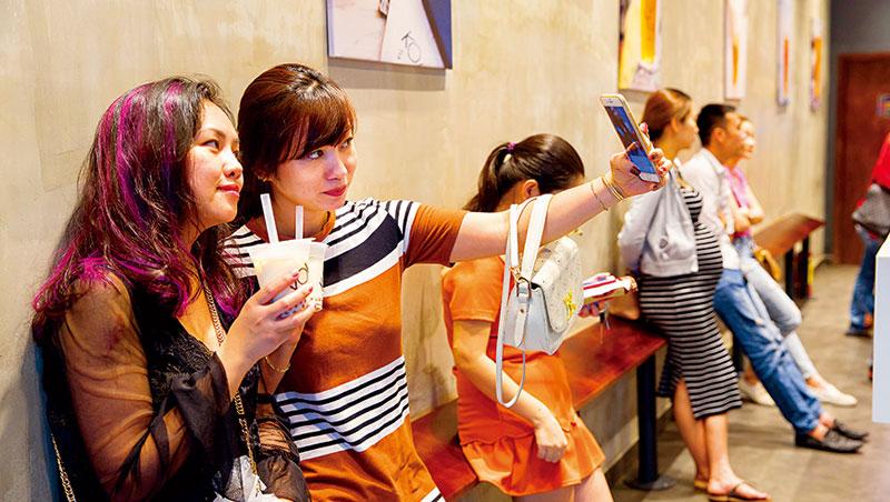 台灣珍奶店,變越南年輕人打卡熱點