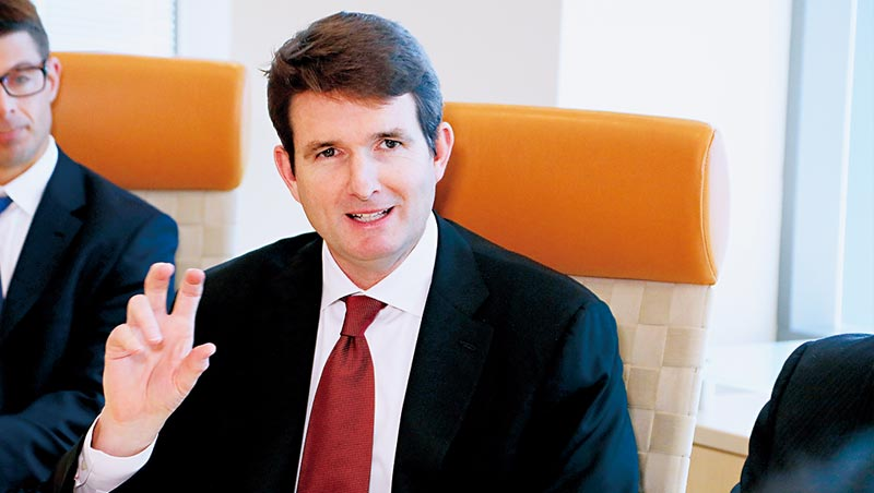 傅道格,現任安聯收益成長團隊投資長、安聯收益成長基金經理人