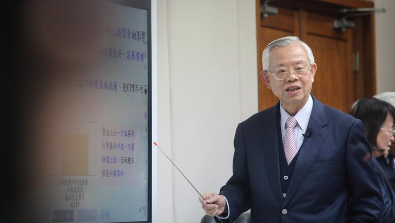 「匯率何其無辜?」彭淮南最後一堂課為新台幣匯率抱屈