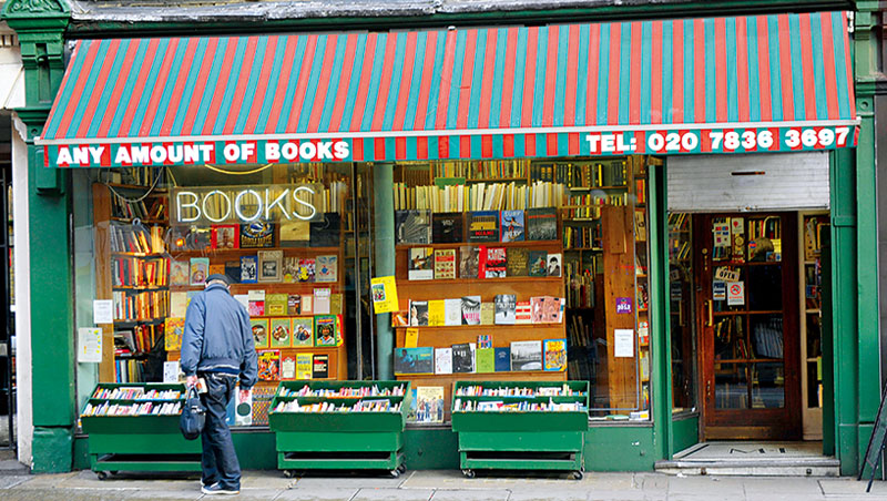 去年開始英國街頭的獨立書店變多了,舉辦面對面活動、圖書交流,成為這些小書店翻身的關鍵。