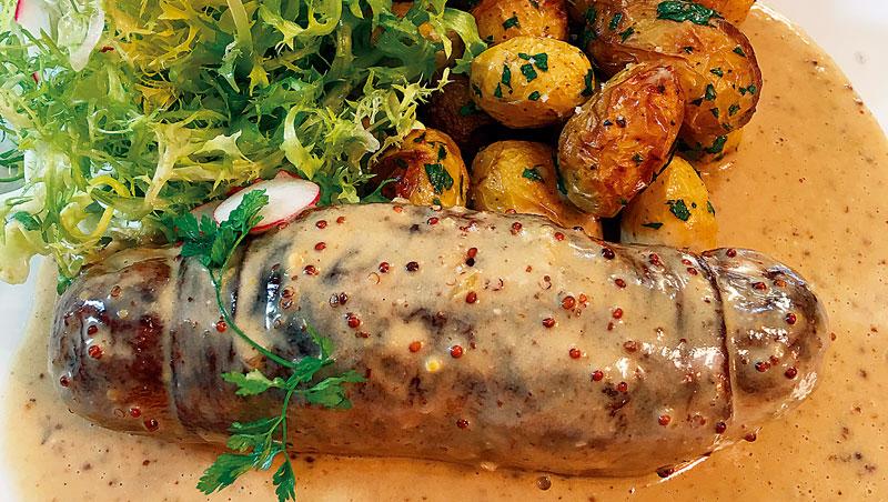 腸肚包是里昂經典的美食。