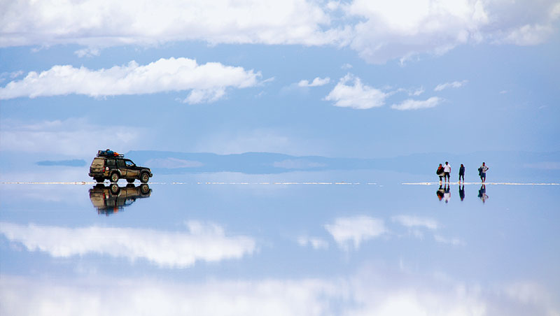 不像年輕人多少在網路看過照片,媽媽韓東益初見烏尤尼鹽沼,是難以形容的震撼與喜悅。2太源晙堅持旅途每天上部落格寫日記,為母子倆圈了許多鐵粉。