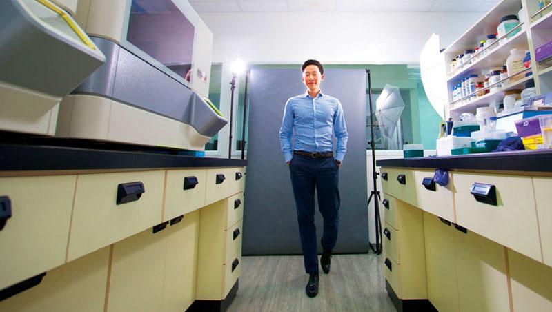 黃賢驎,安智生醫創辦人兼執行長,39歲。