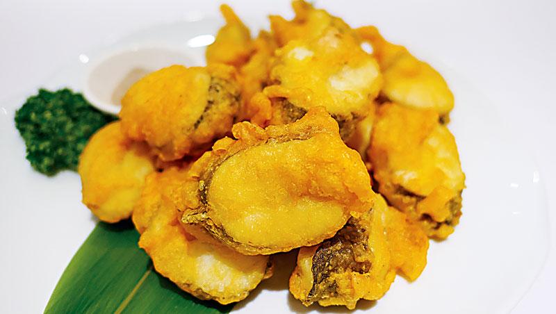 「那個魚」最常裹粉油炸,肉質似鼻涕,若不小心易燙傷。