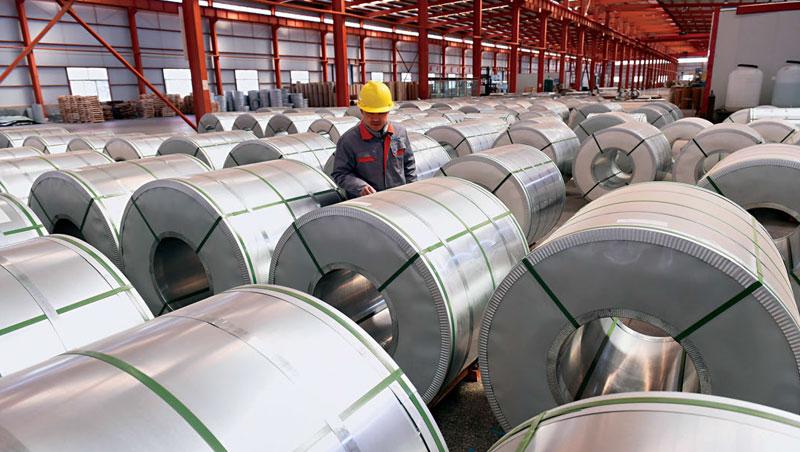 美國對中國鋼鋁等產品課稅,理由是中國補貼傾銷,傷害美國生產者,但忽略消費者是得利的,圖為中國山東鋁廠。