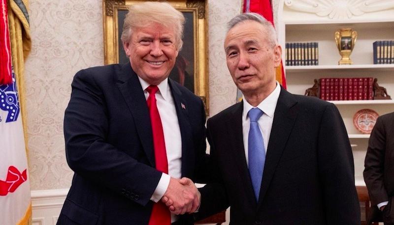 川普:中國會購買我們偉大的農產品!中美貿易戰談了半天,關鍵問題根本沒討論