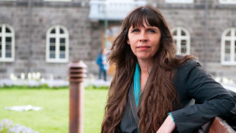冰島海盜黨創黨人:約恩斯多蒂爾
