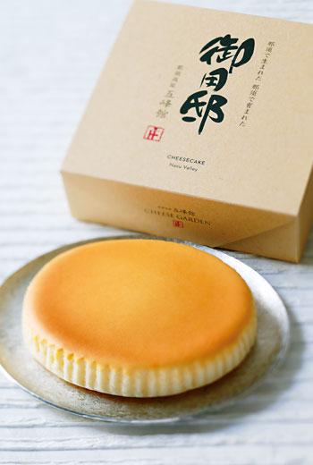 乳酪蛋糕是旅人走訪那須高原必買的伴手禮。