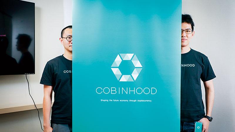 Cobinhood 創辦人暨執行長:陳泰元(左)、共同創辦人暨技術長:黃偉寧(右)