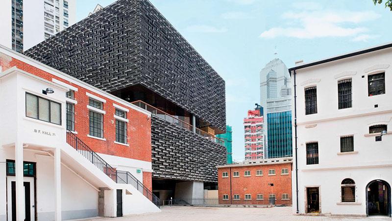5月底才開放的大館,結合古蹟與藝術,建築物風格多元。