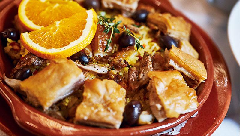 脆口焦香的烤乳豬,呈現原汁原味的葡國風味。