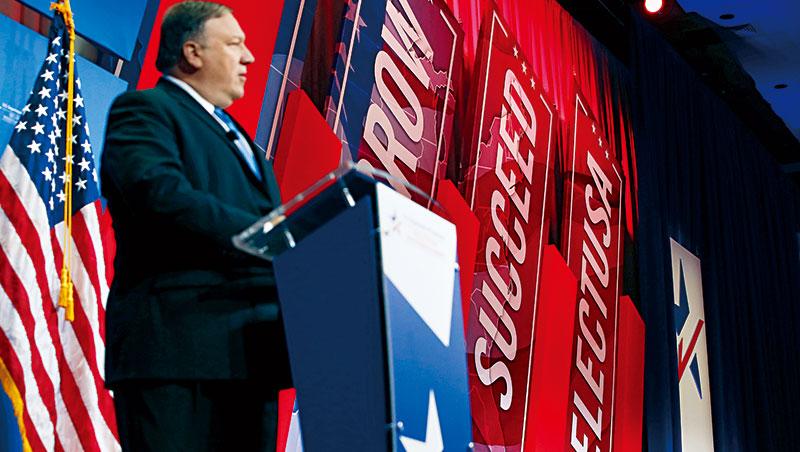 美國國務卿蓬佩奧在Select USA上強調,美國經濟領導地位建立在公平競爭原則上,雖未談及中美貿易戰,仍有劍指中國之意。