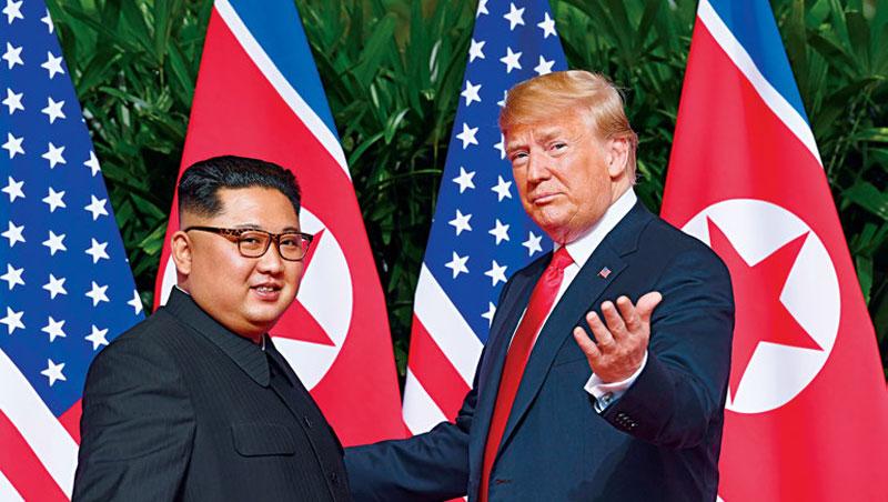 「我相信我們關係會超好。」川普與金正恩的世紀會面,對北韓釋善意,經濟制裁或可望解除。