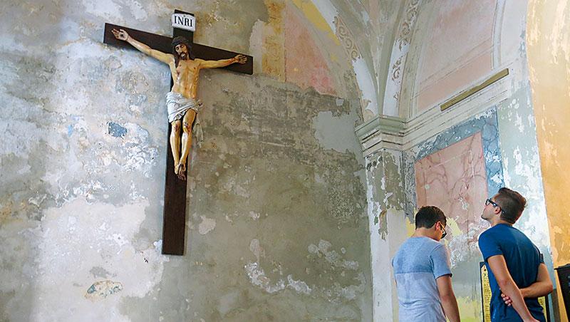 波多黎各推在地人私房行程,圖為美洲第2古老教堂聖胡安大教堂,據說海上歸來的勇士都要來這座教堂祈求庇佑。