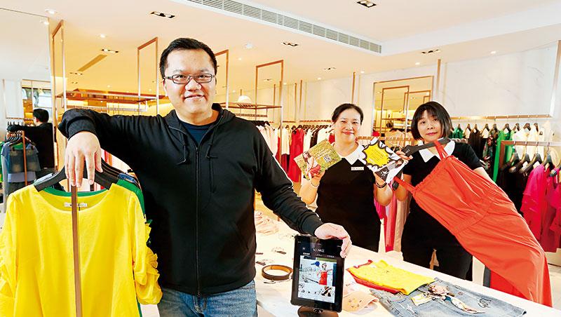 信宏國際開發總經理:李宥宏(圖左)