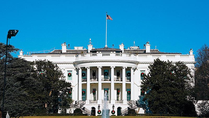 台灣KPI參考美國,卻缺乏美國政府講求證據式的推演過程,更沒有類似白宮(圖)、行政單位與國會相互制衡的機制,使績效管理流於形式。