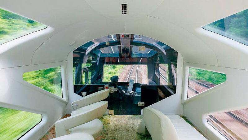 四季島列車觀景車廂