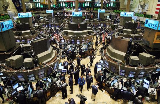 現在的美國紐約證券交易所 (美國人的活動中心)