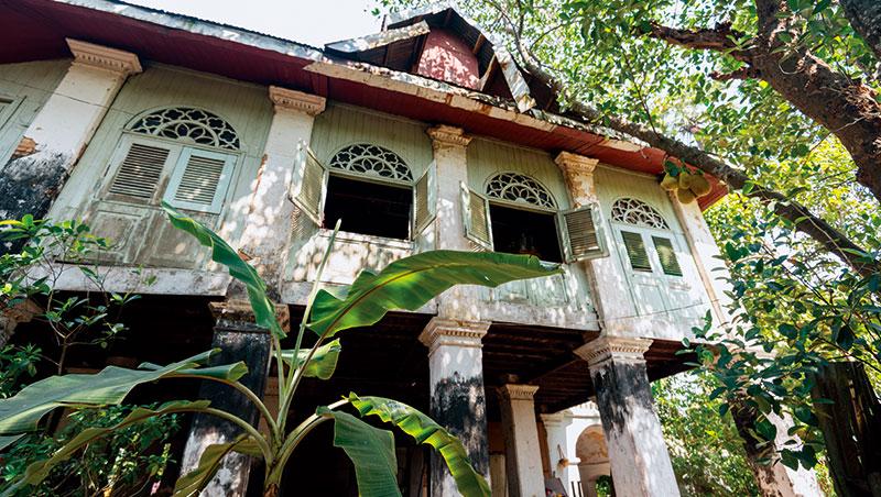 緬甸仰光留有英國殖民風格的老建築。