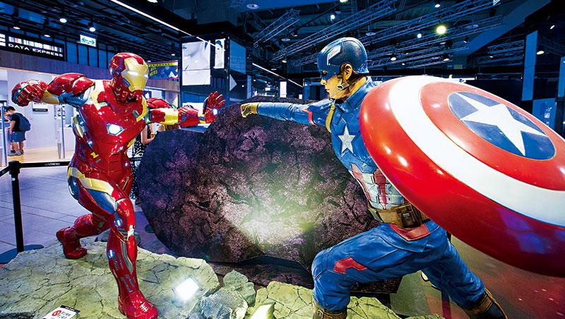 漫威電影宇宙10週年,台北漫威限定店開張熱鬧背後,迪士尼正出重手展開平台攻勢。