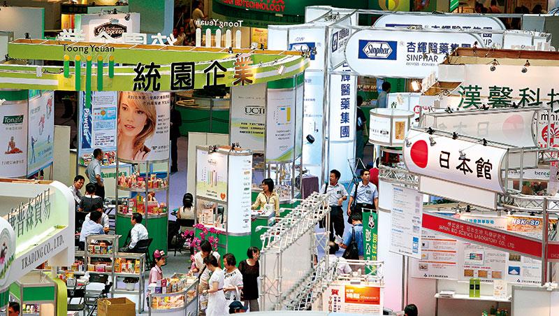 台灣生技產業多元,每年生技展除了醫藥、保健相關,還有醫美、農業等。