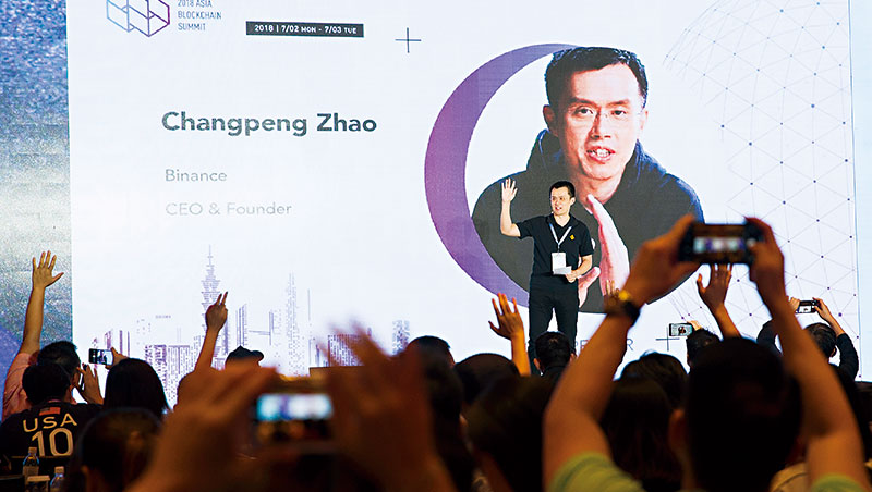 已開發國到難民營都在用!甫於台北舉行的高峰會上,全球第3大加密貨幣富豪、幣安交易所創辦人趙長鵬成全場焦點