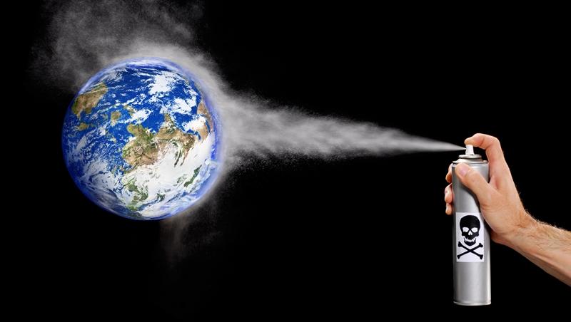 中國被抓到了!違法偷排禁用的化學物質,害臭氧層復原要再晚10年