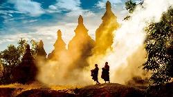被時光凍結的國度  緬甸