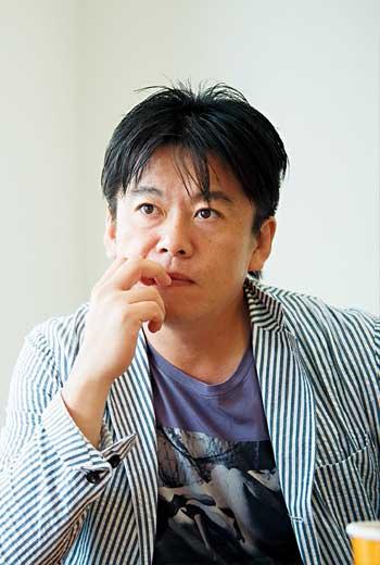 堀江貴文:創業家/作家/網紅/餐廳規畫師/程式工程師/火箭開發員