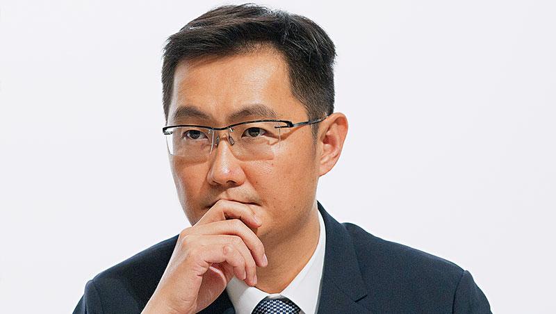 騰訊創辦人馬化騰身價逾新台幣1兆3千億元,為華人首富,在中國企業地位難動搖,包袱也因此而生。