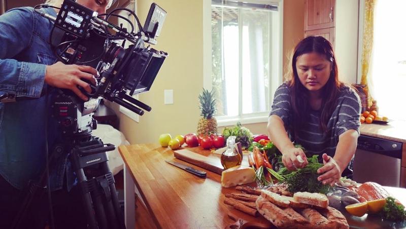 26歲台灣女生勇闖好萊塢!她自學當專職「食物造型師」:心胸要開放,拓展自己的視野