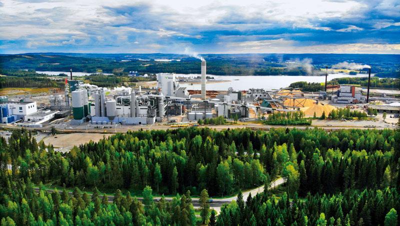 芬蘭。木材工廠,竟幫10萬家庭發電,0燃料、0污染,廢料變10家公司原料