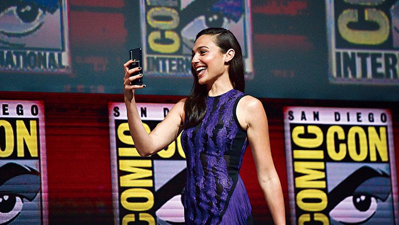 華為積極著眼品牌行銷,今年找來「神力女超人」蓋兒.加朵代言,試圖征服美國,足見它躋身全球品牌的野心。