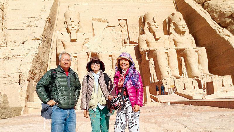 200歲背包客遊埃及