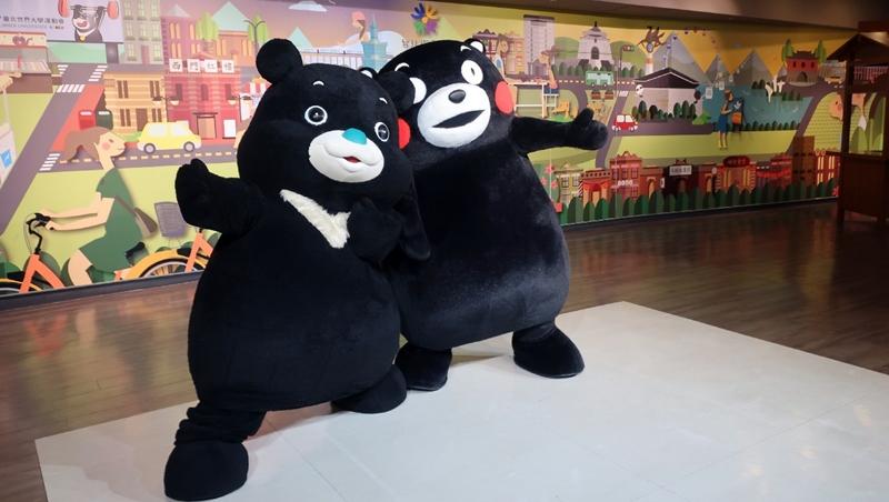 一場熊本「酷MA萌」跟台北「熊讚」的雙熊會,告訴你打造吉祥物商機背後的專業