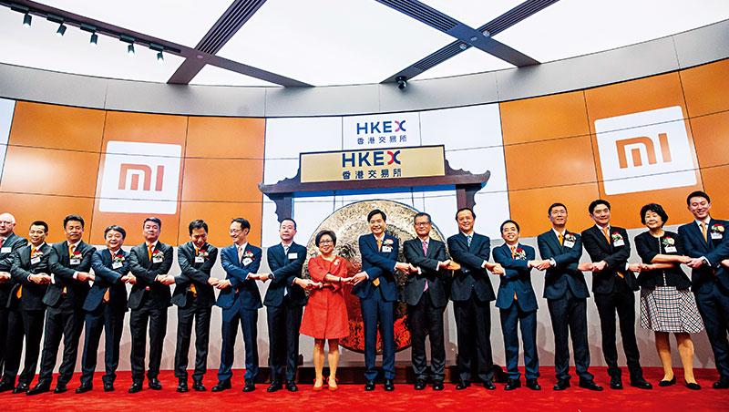 小米最初估值1,000億美元,上市時腰斬至500億美元,香港新股上市的邊際效用正在遞減。