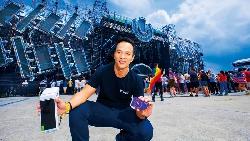他把台灣最大電音趴 變虛幣應用實驗場