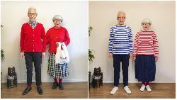 退休當時尚網紅!擁76萬IG粉絲,日本花甲夫妻傳授穿搭心法:不刻意裝年輕,但提醒自己挺直腰桿