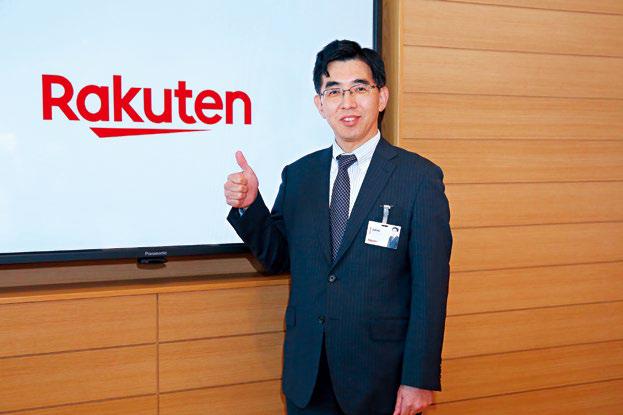 樂天銀行社長永井啟之認為,台灣人手一機,網路普及率又高,極有潛力發展純網銀。