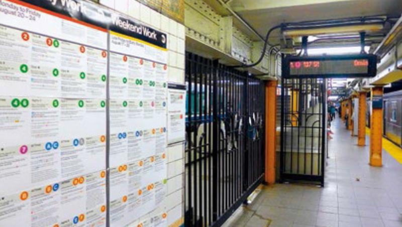 紐約市每週公布的假日地鐵維修、停運訊息密密麻麻,要拼湊有效的轉車路線著實不易。
