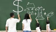 一個家庭每月存不到2萬,該讓孩子知