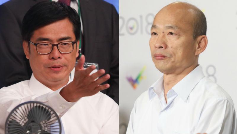 一場辯論會,看陳其邁與韓國瑜的「經濟」之爭:走向世界還是走向中國?