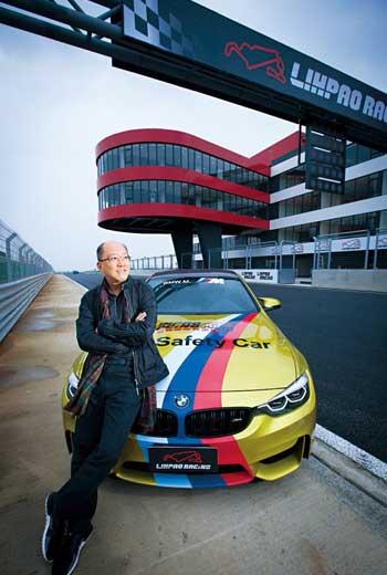 副董陳志鴻幫麗寶挖出賽車財,在今年成立具備FIA會員資格的中華車會後,下一步將引國際級賽事來台。