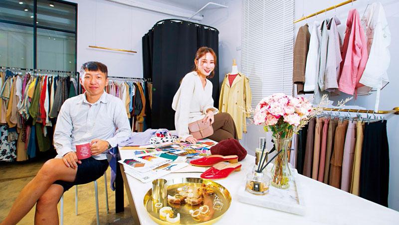 創立品牌是楊碧甄與王俊凱壓上所有積蓄的豪賭。即使偶有庫存,他們也把特賣會轉化成線下快閃店,當成與粉絲見面交流場合。