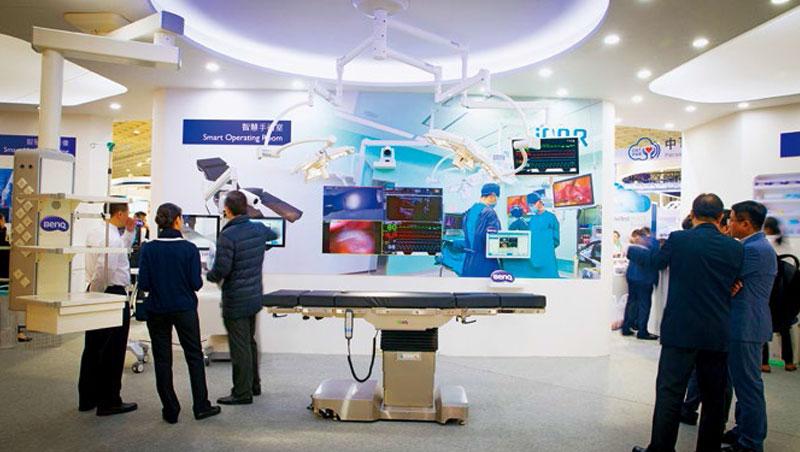 陳其宏為佳世達打下醫材事業江山,公司醫療營收年成長近3成,去年接棒成為佳世達董座。